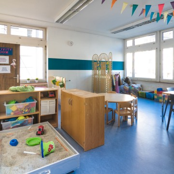 Activity room Wings School Zurich