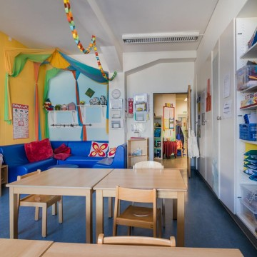 Kindergarten Raum Wings School KITA Hort
