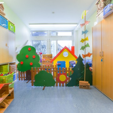 Kinderkrippe Raum Wings School KITA Hort