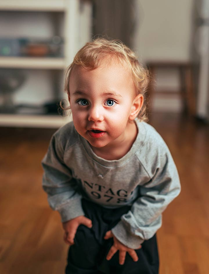 Kind Junge Kindergarten